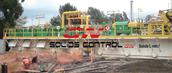1500 gpm mud recycling system
